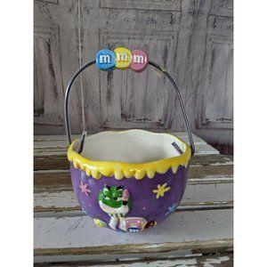 Galerie m&m's Easter mini basket female green